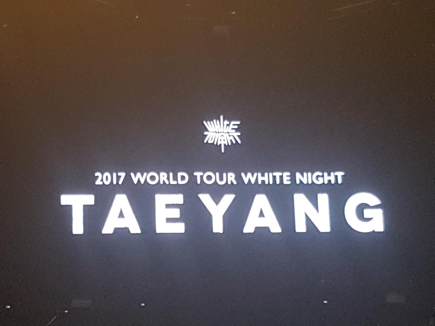 Taeyang White Night In Manila Charmwanderss